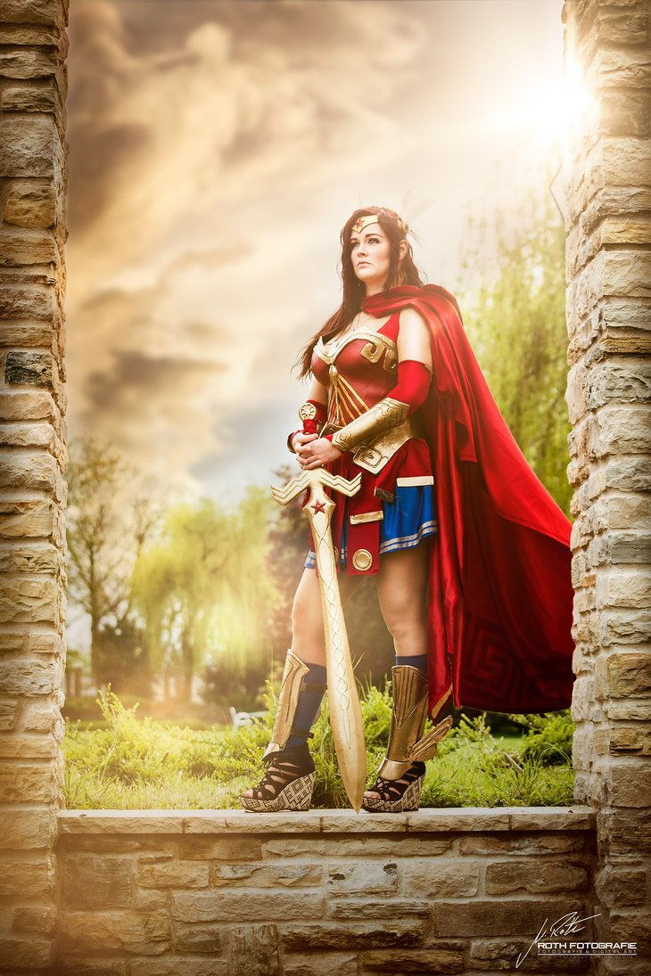 Greek Goddess of War Wonder Woman by Arwenia-Cosplay.deviantart.com on @DeviantArt
