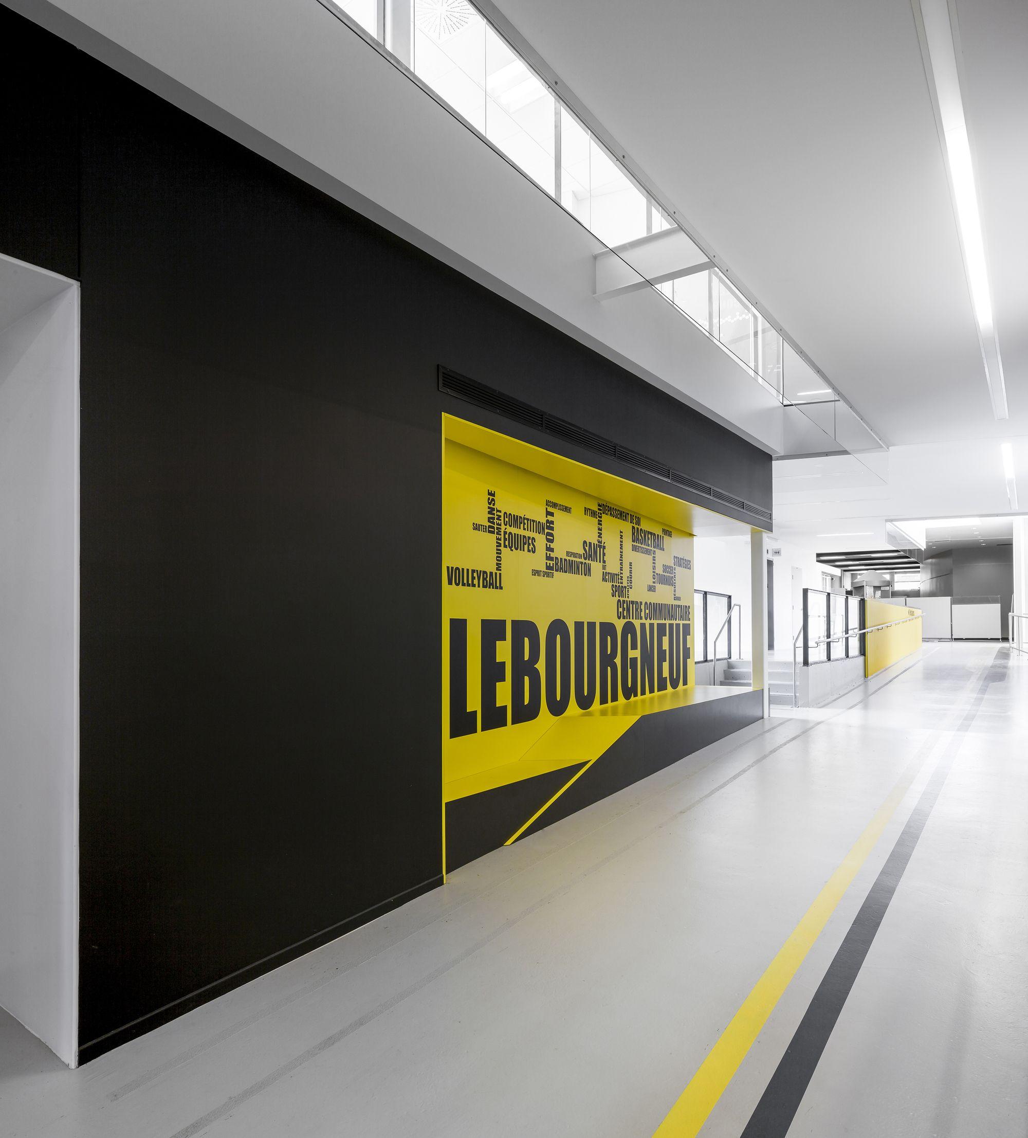 Centro comunitario Lebourgneuf / CCM2 architectes