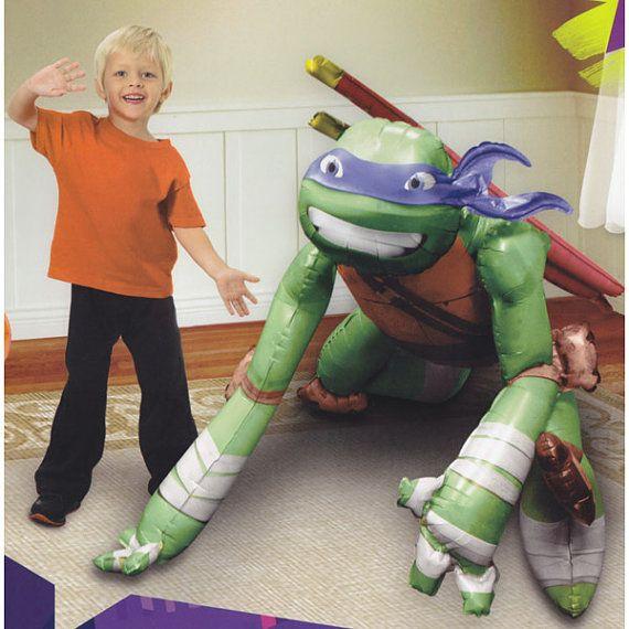 Teenage Mutant Ninja Turtles, Life Size, Airwalker foil balloon ...