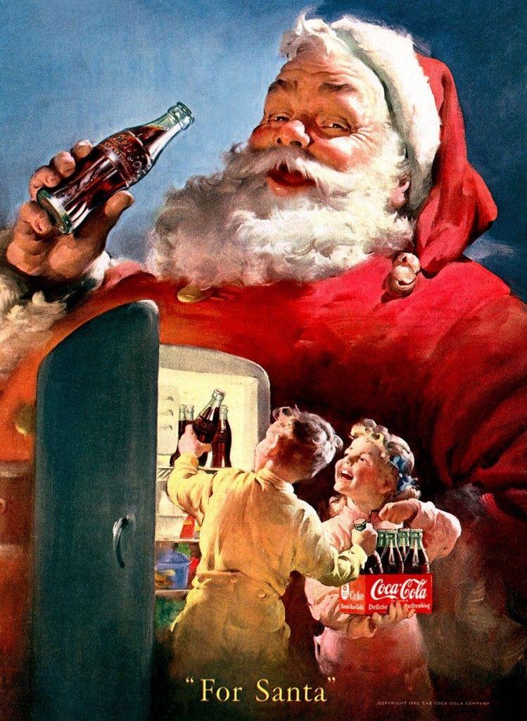 Coca Cola Babbo Natale.Pinterest