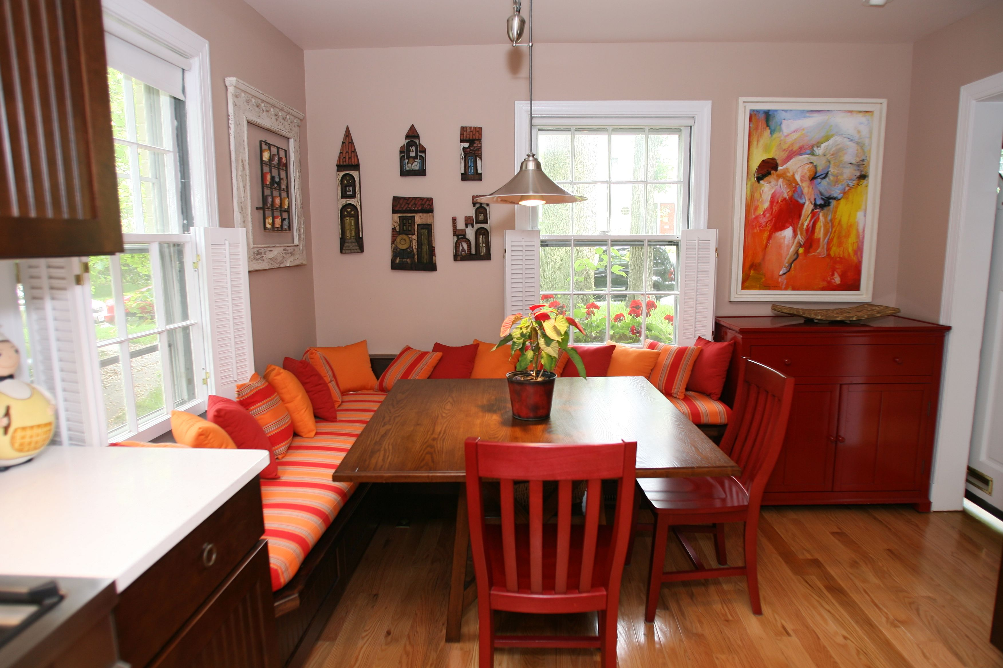 small eat in kitchen ideas  google search  booth seating