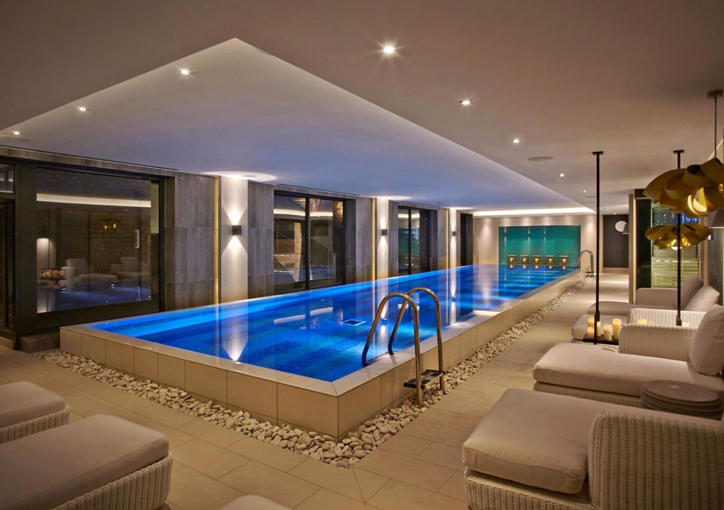 11 Of The Best Uk Spa Hotels For A Romantic Weekend Away Indoor Pool Design Pool Houses Indoor Swimming Pools