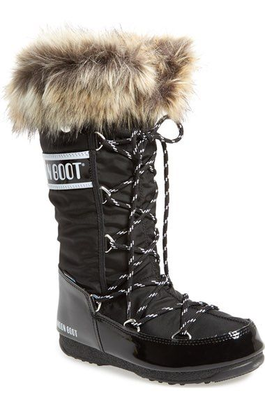 Tecnica® 'Monaco' Waterproof Insulated Moon Boot® (Women) available at #