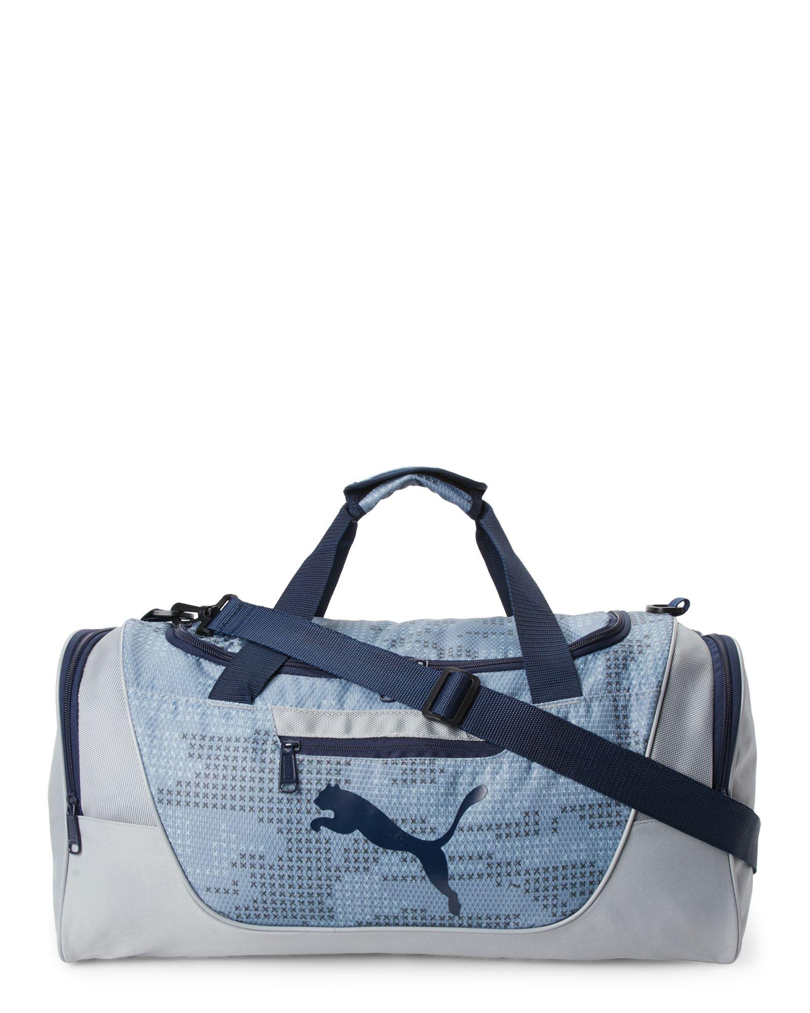 bba1ea94f Puma Grey Contender Duffle | *Luggage & Bags* | Bags, Luggage bags ...