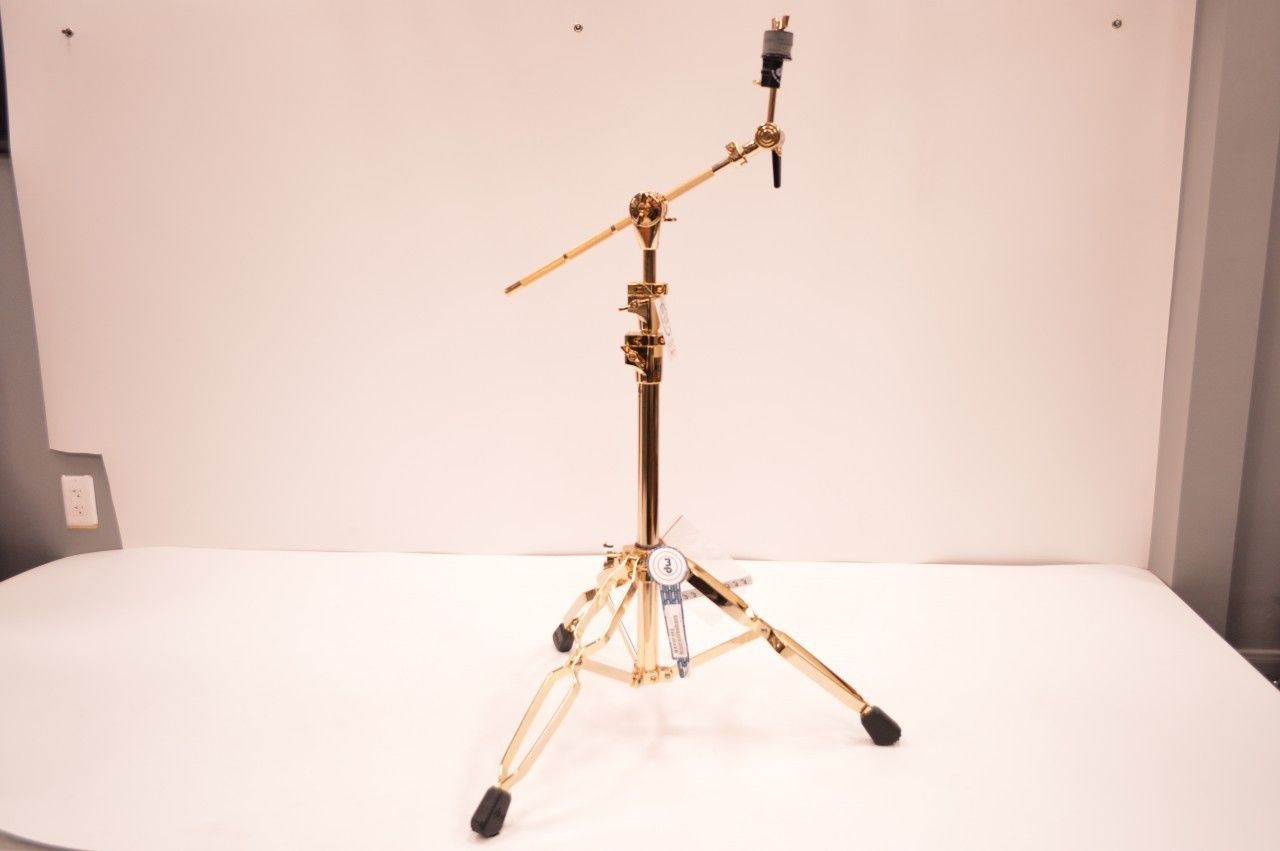 dw 9700 boom cymbal stand 24k gold plated this is so stupid and expensive 500 bucks but. Black Bedroom Furniture Sets. Home Design Ideas