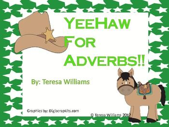 This Language Arts unit contains lots of student practice recognizing and using adverbs. There is a mini-lesson about adverbs, an adverb-adjective ...