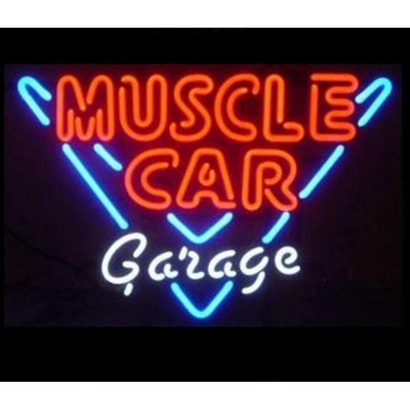 "New Truck Garage Neon Light Sign 24/""x20/"" Lamp Poster Real Glass Beer Bar"