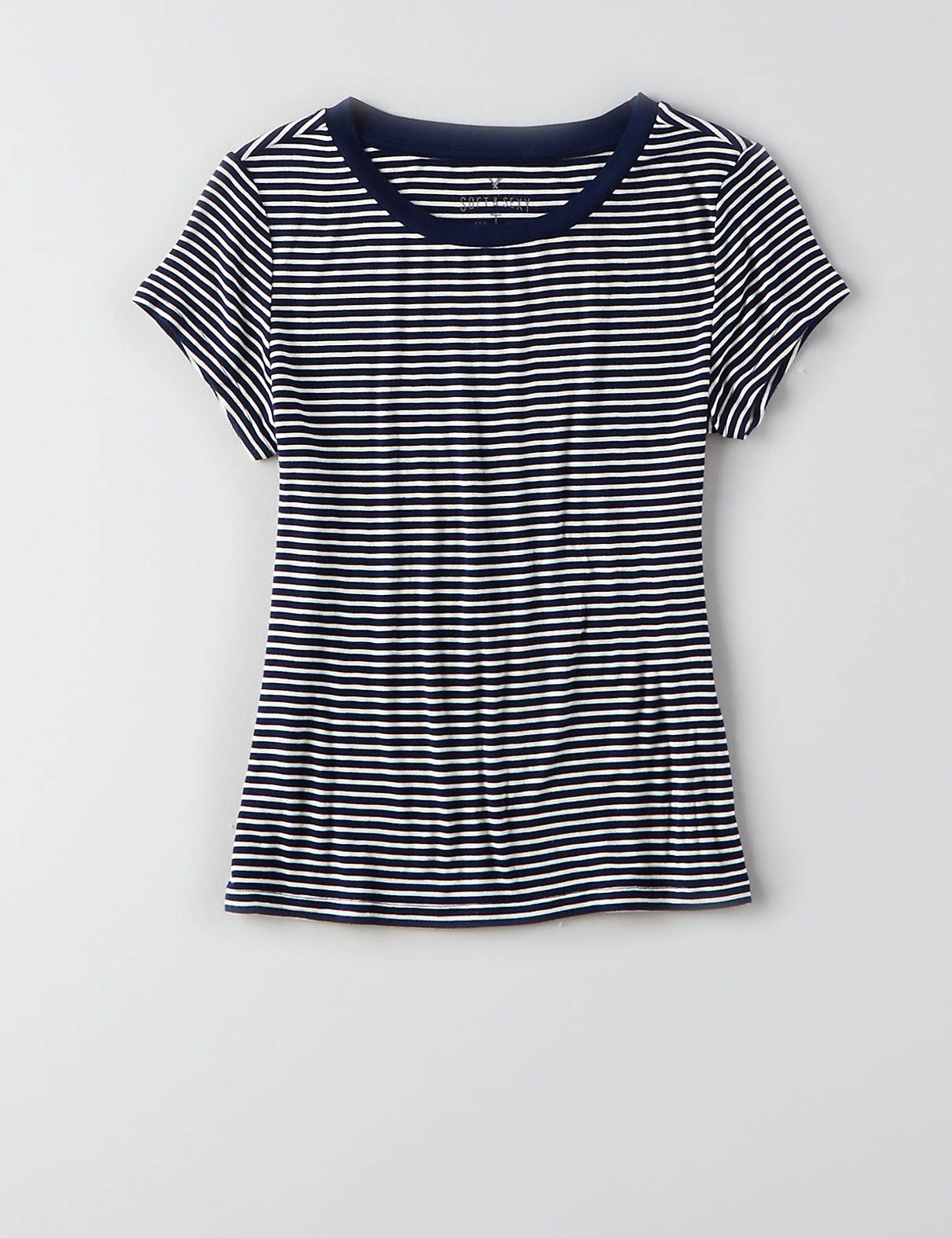 56994529 AEO Tomgirl T-Shirt , Navy | American Eagle Outfitters. Find this Pin and more  on ...