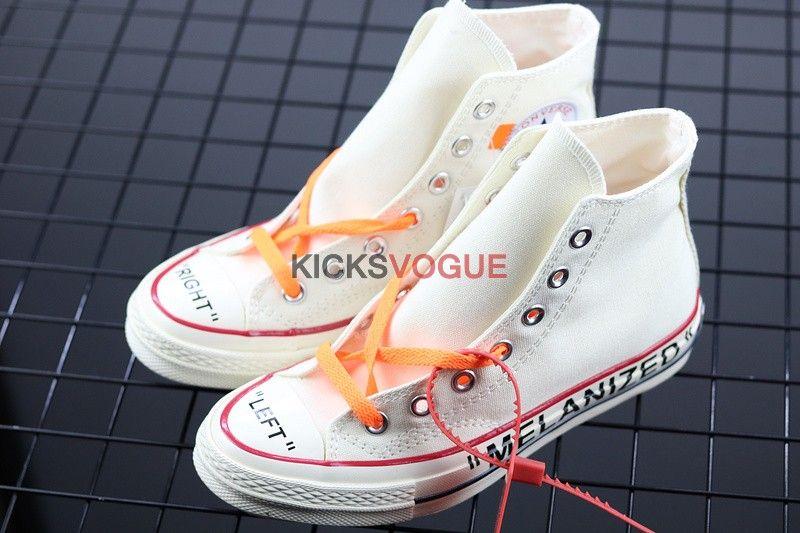0868c950702a Custom Off-White x Converse Chuck 1970s Hi Parchment