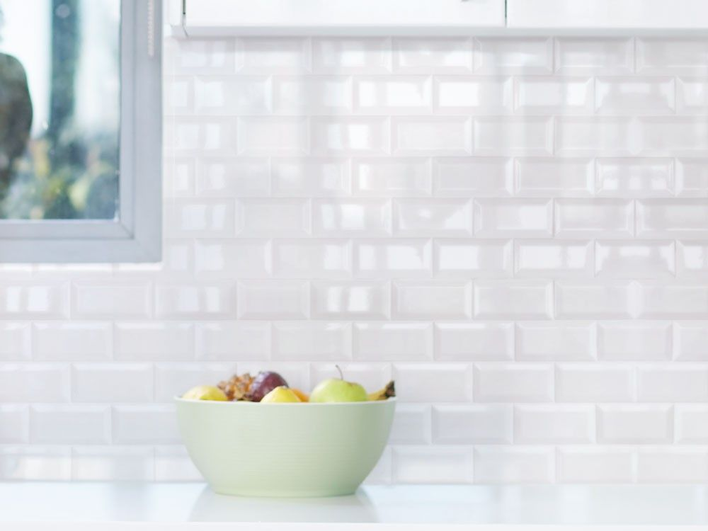 Valencia Bevelled Glossy White Wall Tile Ctm Wall Tiles Ceramic Wall Tiles Kitchen Wall Tiles