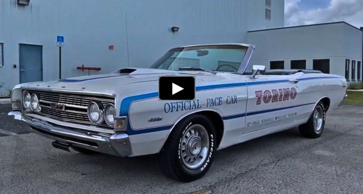 1968 Ford Torino Gt Convertible Indy 500 Pace Car Ford Torino