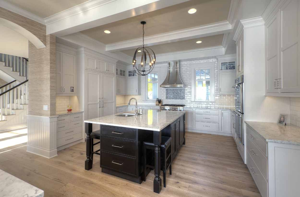 Angela Goodall designed this dreamy kitchen in Traverse ...