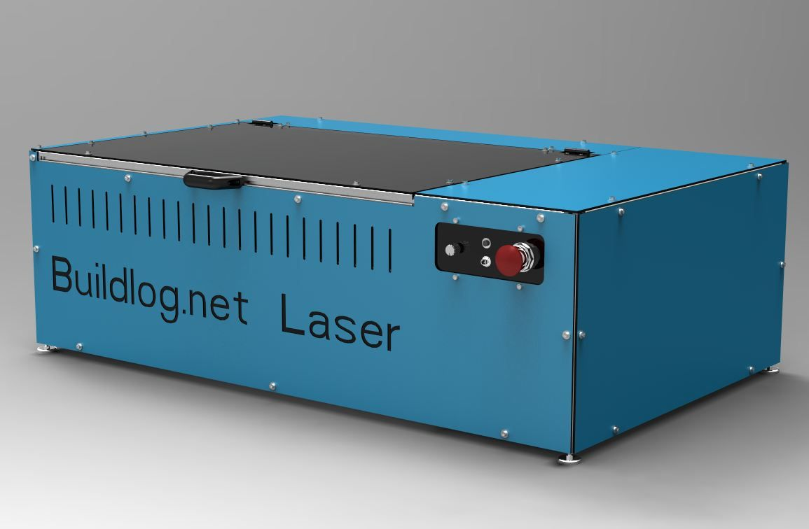 This is the Buildlog.net Open Source CNC Laser Cutter. The machine ...