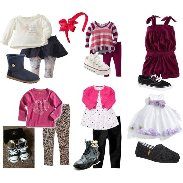 cute little girl outfits by kanderson777 on Polyvore featuring mode, Steve  Madden, Us Angels
