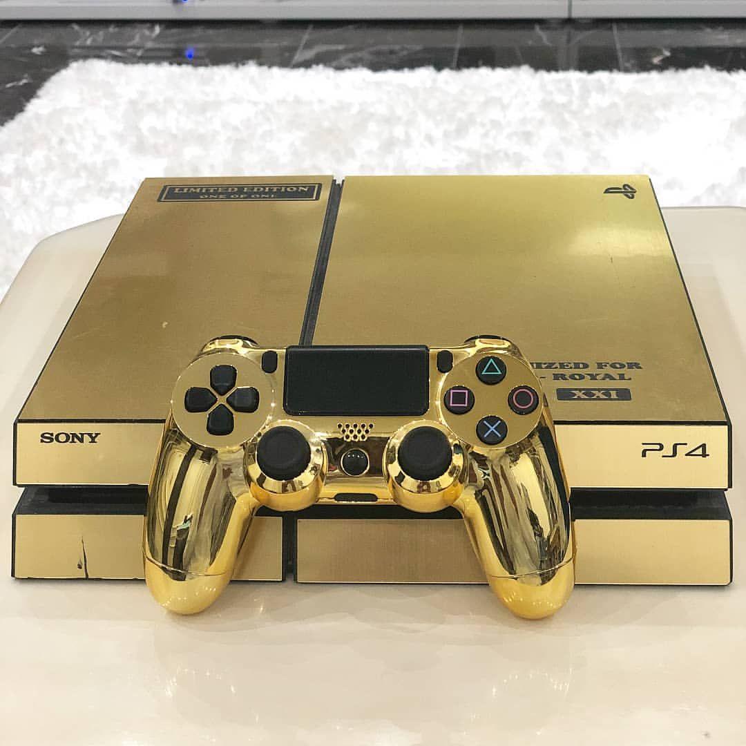 Golden Playstation 4 Ps5 Playstation Play