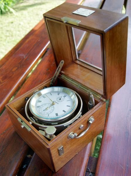 Antique Marine Chronometer GUB VEB Glashutte 10170