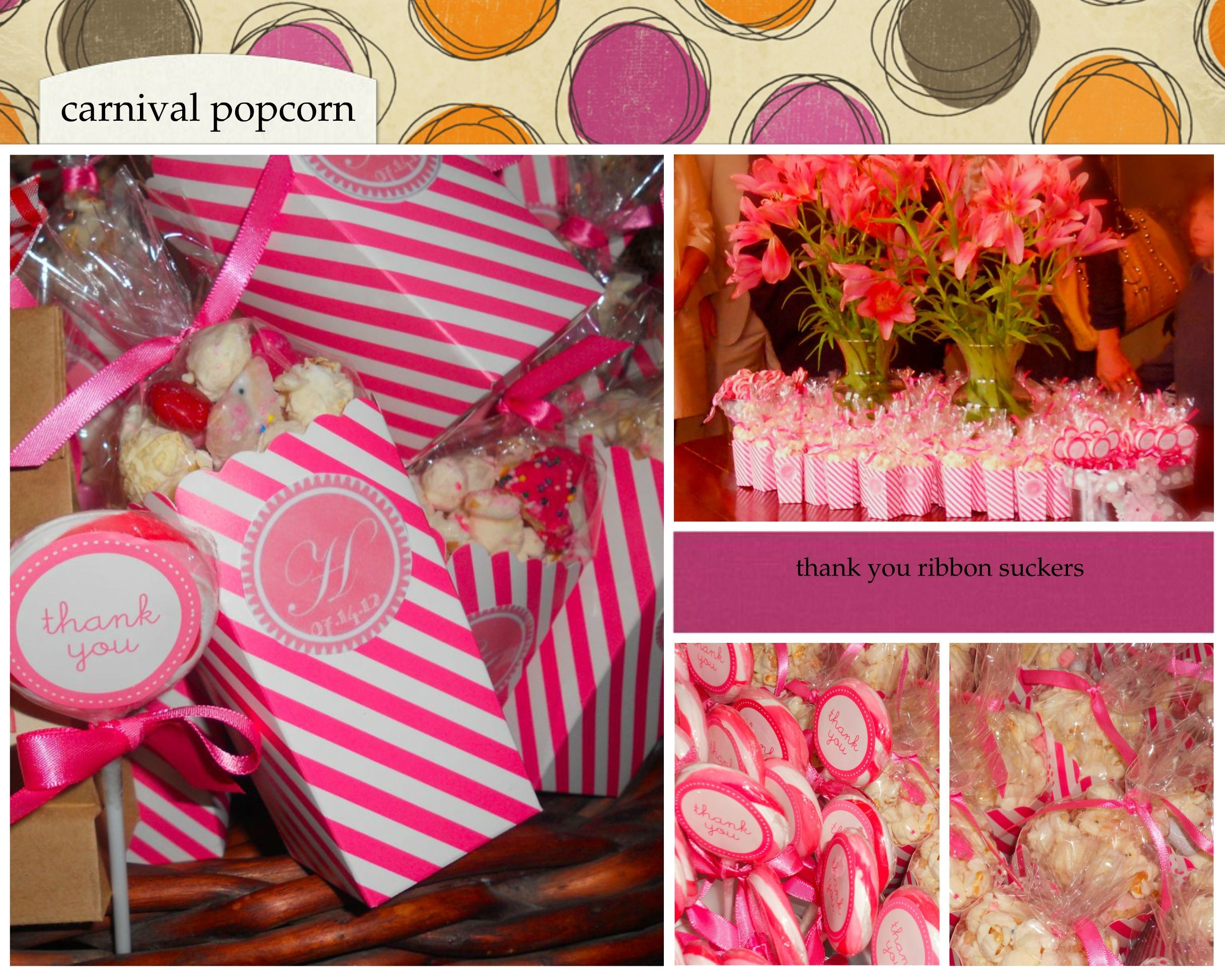 Carnival Toy Box Pink: Carnival Popcorn Made Of White Chocolate, Pink M's, Pink