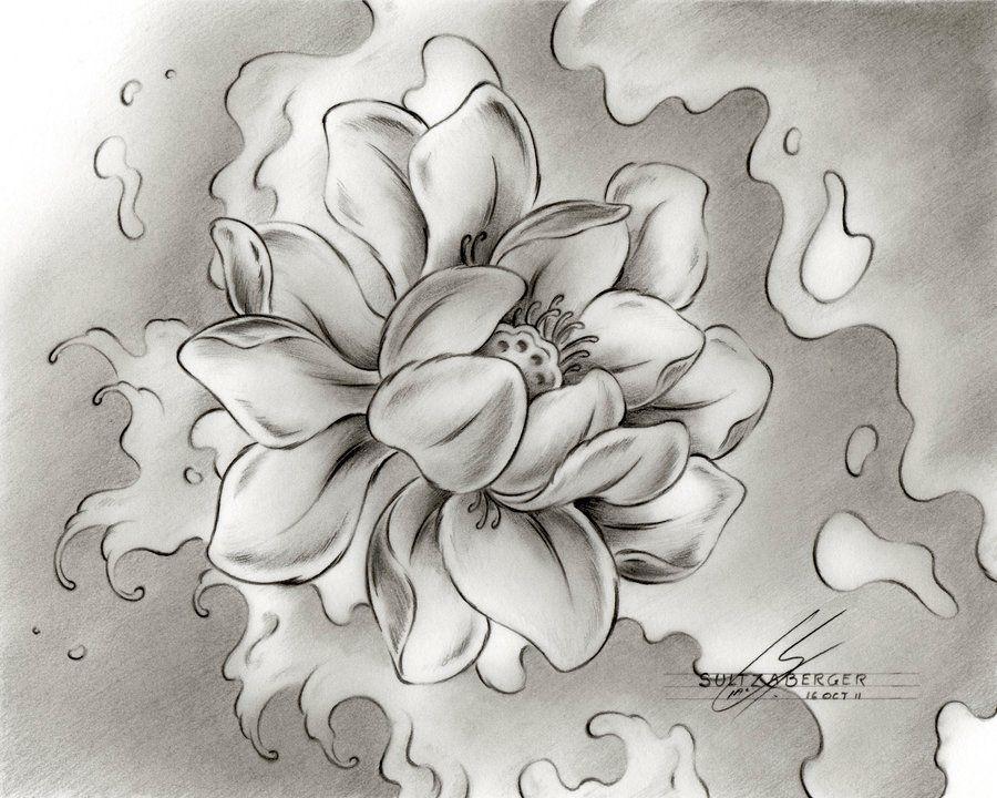 Japanese Water Lilies Tattoos Tattoo Body Art Inspirations