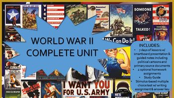 Photo of World War II Complete Unit