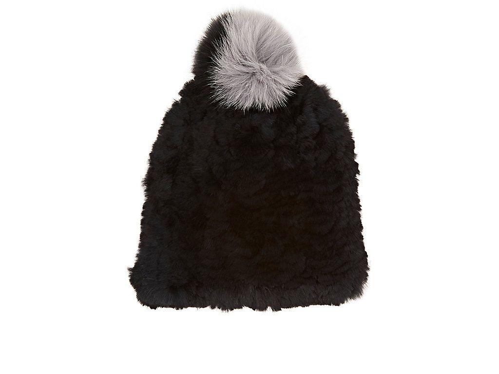Womens January Knit Fur Beanie Eugenia Kim e9nHrcgZ