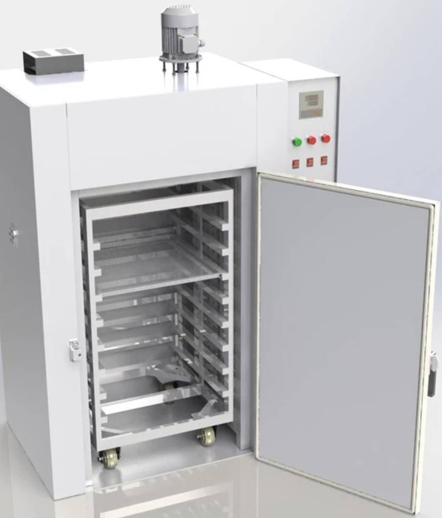 Kh100 Industrial Oven With Pushing Cart