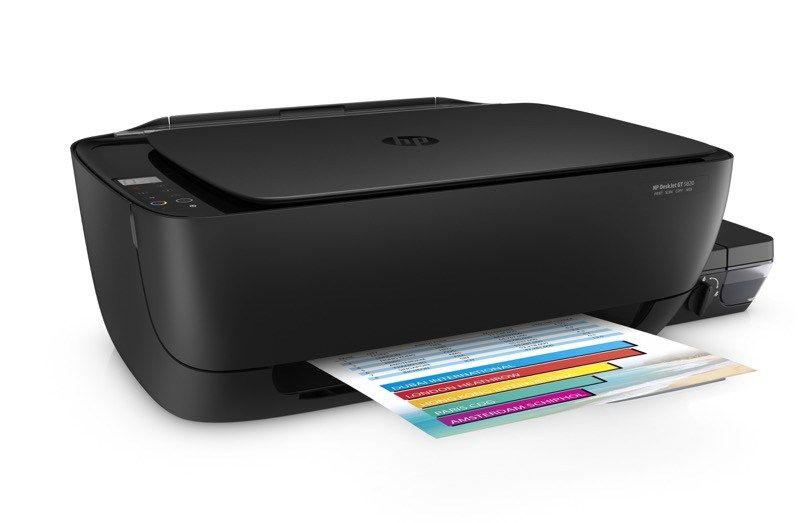HP DeskJet GT 5820, una impresora de tecnología de tinta continua ¡sin derrames ni manchas!