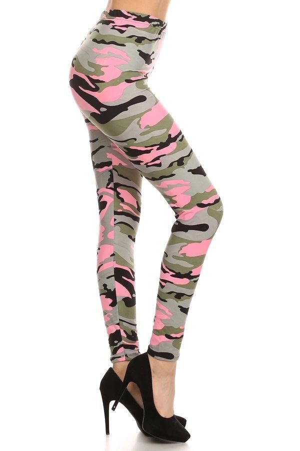 c3a8a14593a5d LIGHT PINK CAMO Print Brushed Ankle ONE SIZE Leggings YOGA BAND in 2019 |  ball-caps & camo | Camouflage leggings, Camo leggings, Pink Camo