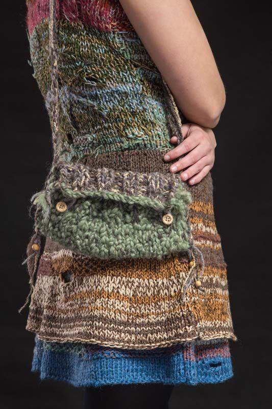 e315c751d8 kabelka Turtle Krásná malá pletená originální taštička na spoustu  nezbytností .... jako je