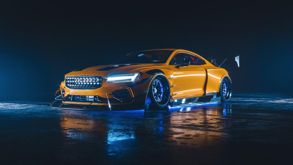 Artstation Nfs Heat Polestar 1 Cover Hero Car Design Khyzyl Saleem Need For Speed Cars Orange Car Sports Car Wallpaper