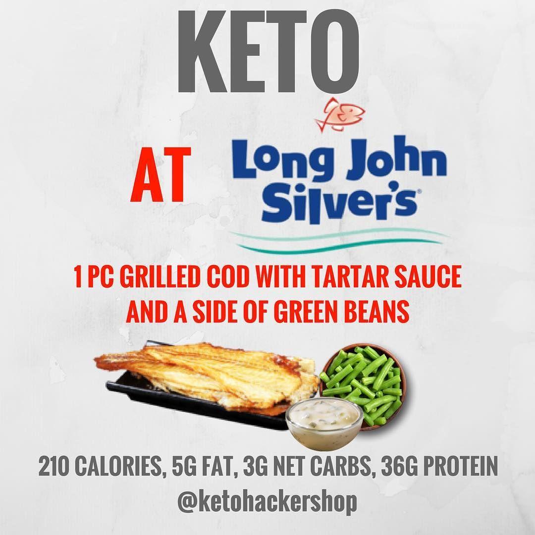 Keto At Long John Silvers Keto Fast Food Keto Recipes Easy Healthy Fast Food Options