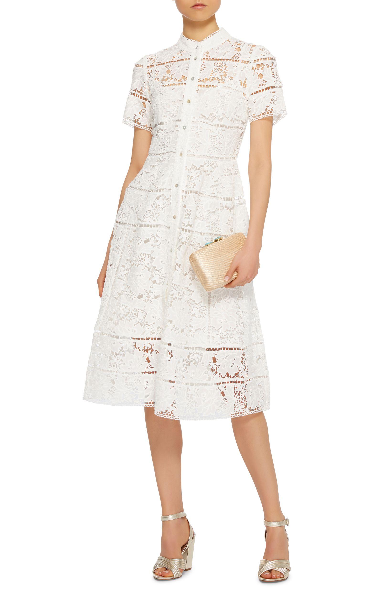Zimmermann Cotton Lace Dress