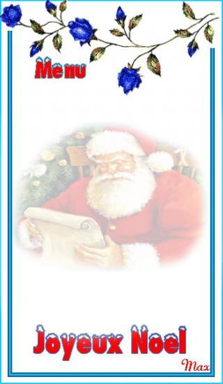 Cartes Menu, Etiquettes Noël 1 #etiquettesnoelaimprimer