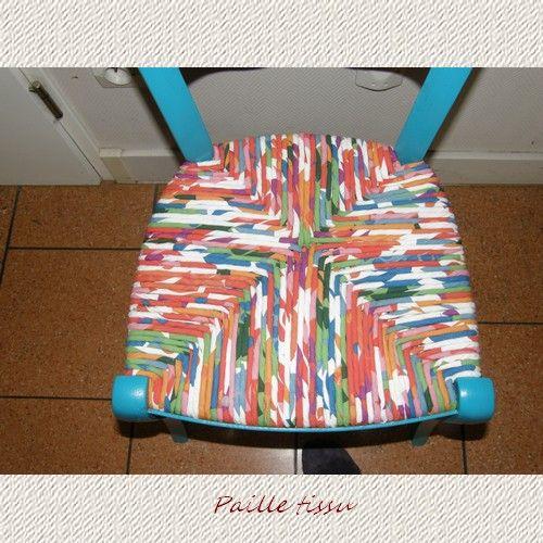 Technique Rempaillage Paille Paille Tissu Rempaillage Chaise Chaise Paille Cannage Chaise