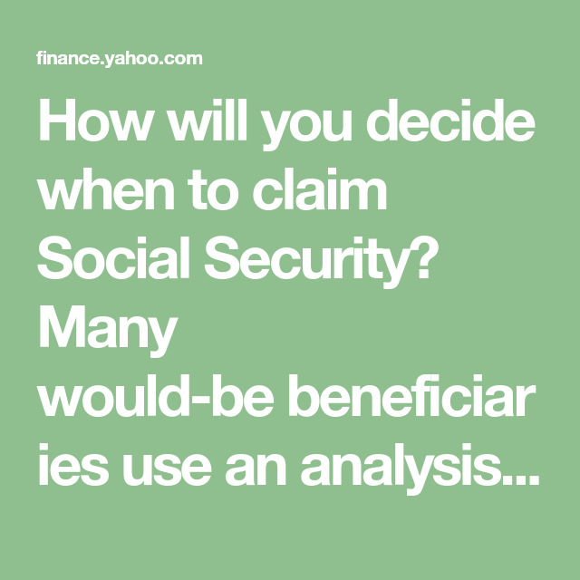 Do The Math Here S Why You Shouldn T Claim Social Security At 62