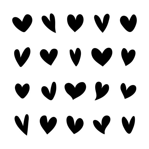 Download Collection Of Illustrated Heart Icons For Free Heart Icons Free Graphics Vector Free