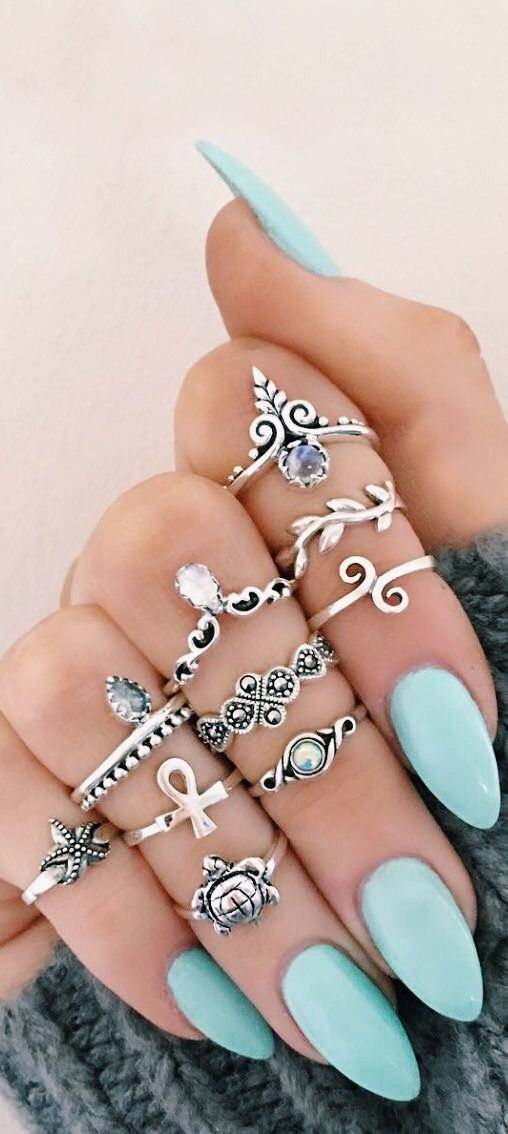 New and Improved Crystal Jewelry | Pinterest | Acrylics, Ring and Makeup