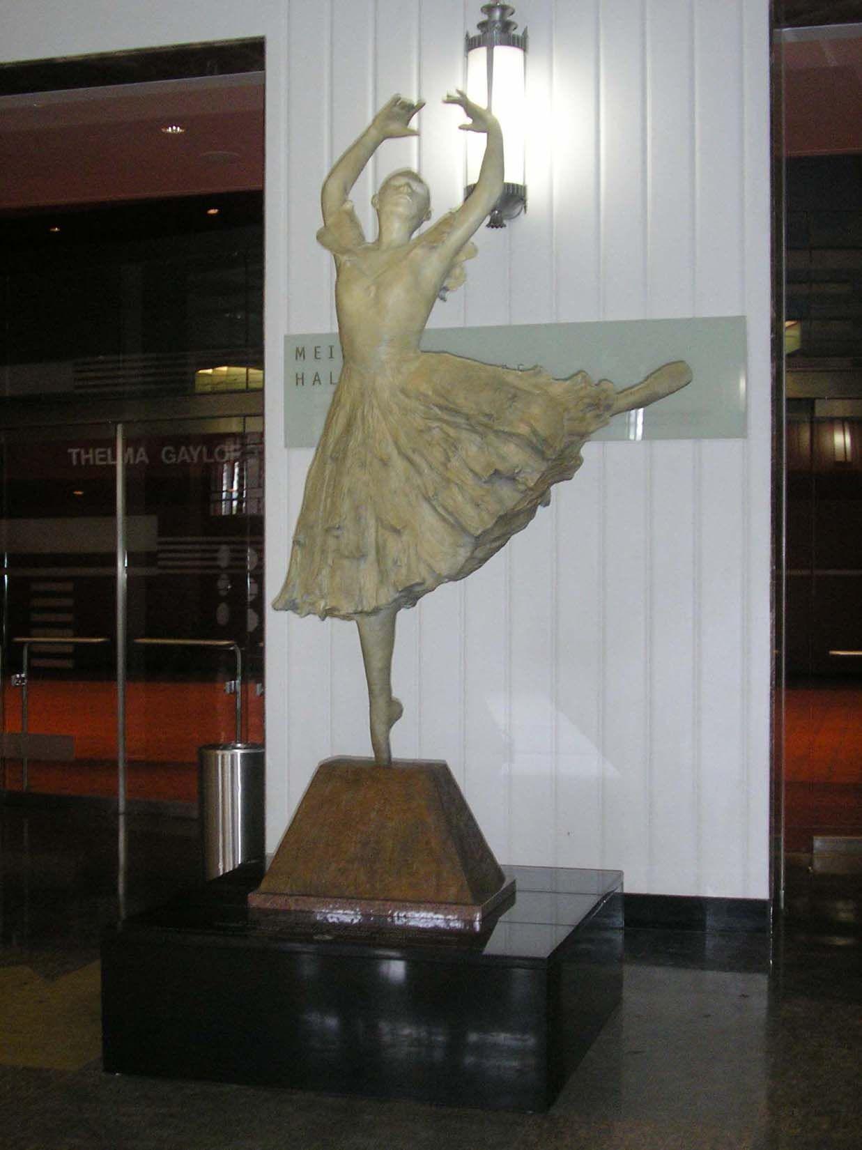 Civic Center Ballerina Statue Base Statue Civic