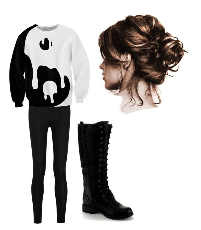"""""""lazy day"""" by kristal-richter on Polyvore featuring Donna Karan and Nature Breeze"""