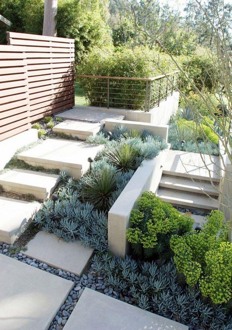 70 Stunning Low Maintenance Front Yard Backyard Landscaping Ideas Backyardlandscaping Backyardplayh Backyard Landscaping Small Garden Design Garden Design