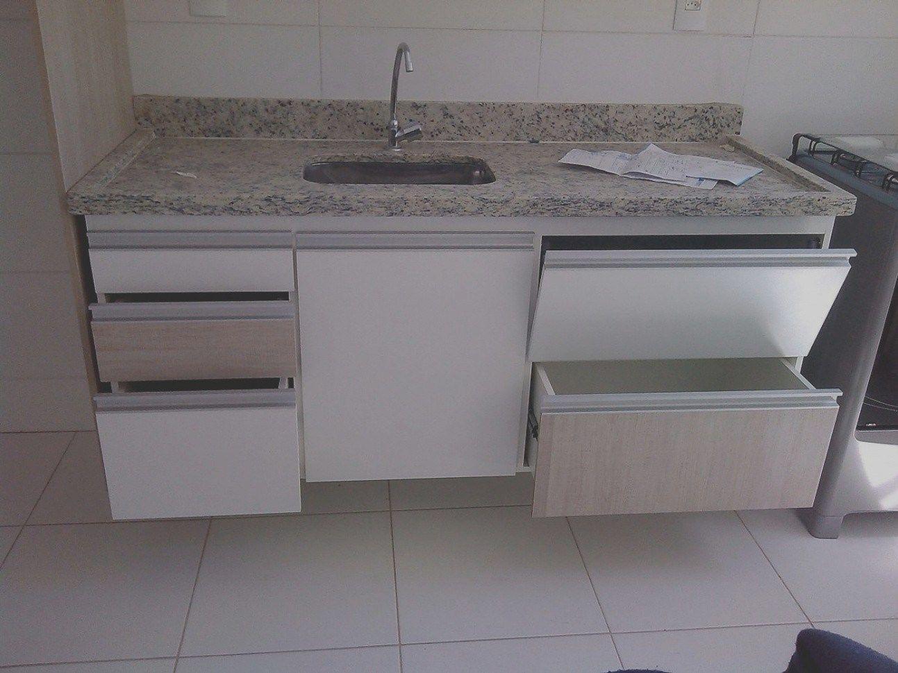 Pia De Cozinha Granito Ou Marmore Notavel 35 Gabinete Planejado