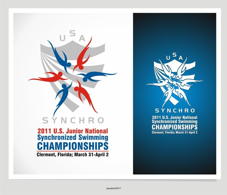 US Junior National Championships Logo by trubus group