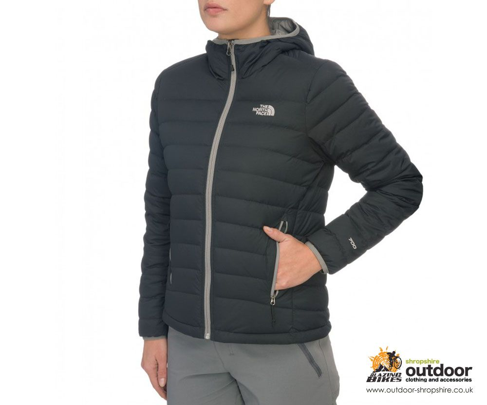 9bf785019377 THE NORTH FACE WOMENS IMBABURA HOODED DOWN JACKET - BLACK - WAS £190 NOW  £130 WITH FREE UK DELIVERY