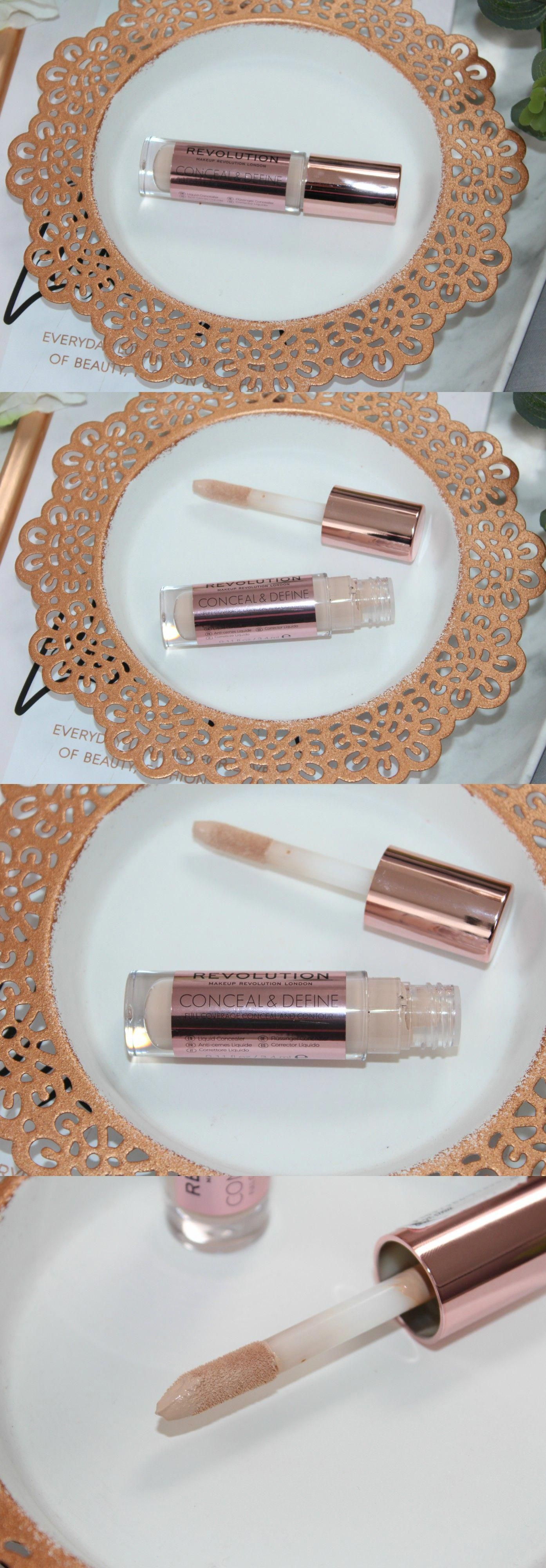 Makeup Revolution Conceal and Define Concealer Review and
