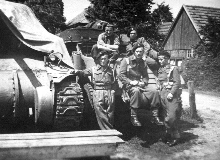 Poles from 1st Armoured Division
