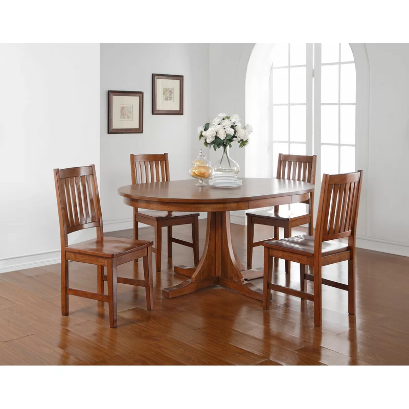 Loon Peak Fort Kent Extendable Dining Table & Reviews