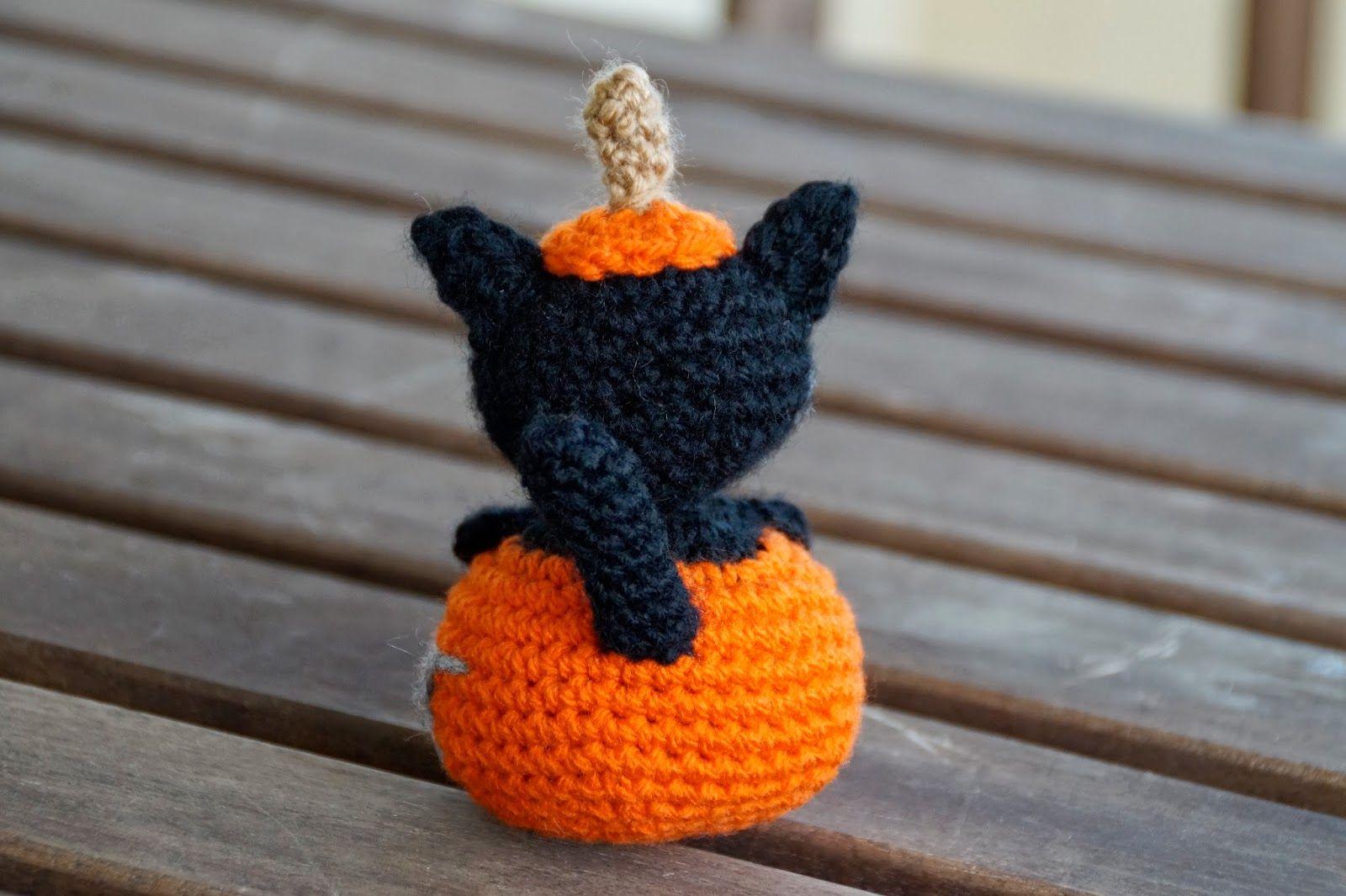 Mi mundo de baldosas amarillas: Halloween time!! (gatito calabaza de ...