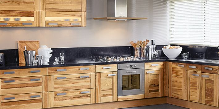 Exceptionnel Cuisine Chene Clair Moderne. Cuisine Bois Clair Moderne Cuisine En  HI95