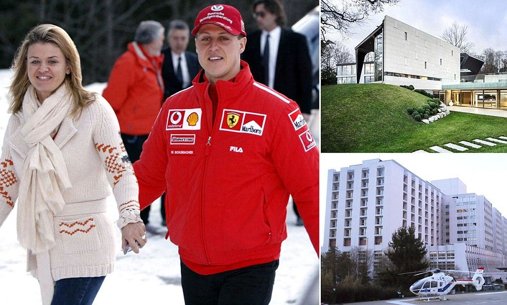 Schumacher's wife builds medical suite at home to look