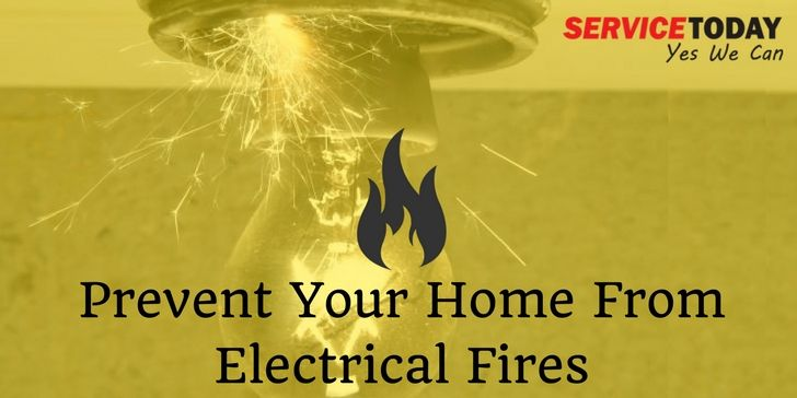 Tips to Keep Your Home Safe From Electrical Fires. #Electrical #Fire #Safety #Tips #Electrician #Melbourne #Australia