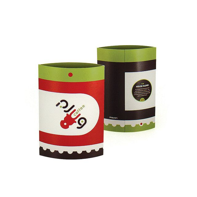 PLUG coffee packaging